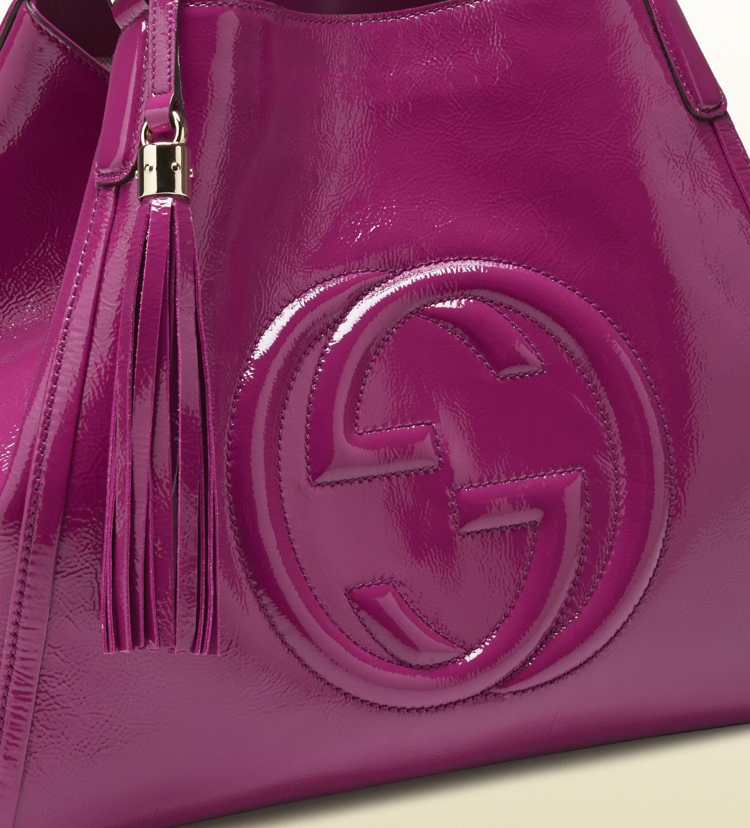 bacfd92f7bf9 Gallery. Women s Gucci Soho Bag Women s Mulberry Seaton Women s Black  Patent Leather Handbags ...