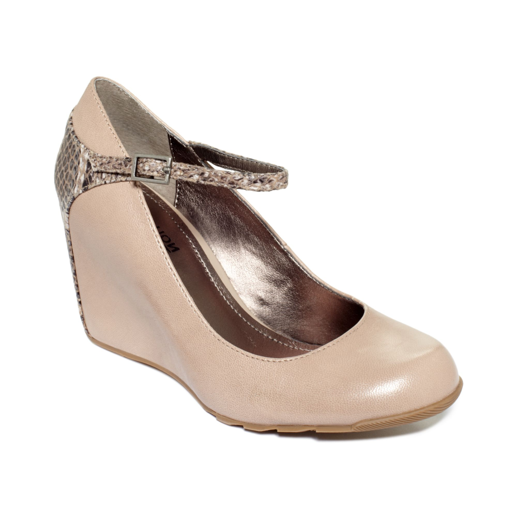 Kenneth Cole Reaction Leather Mary Jane Shoes Women