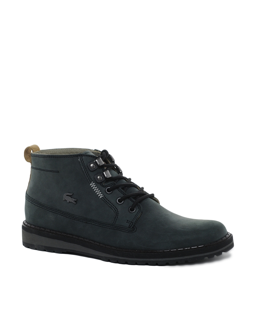 creative recreation lacoste delevan boots in black for