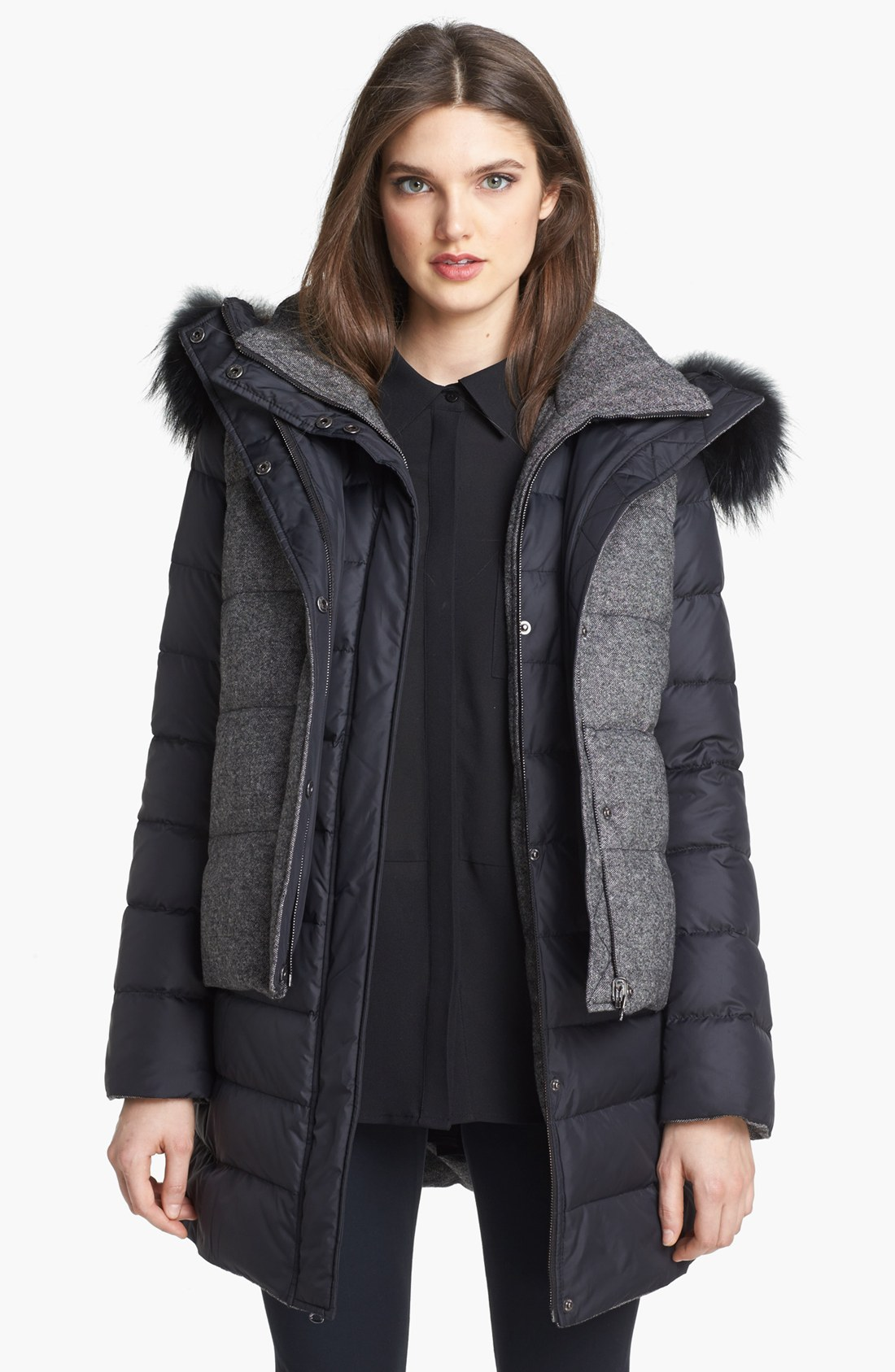 Soia Amp Kyo 6in1 Reversible Quilted Jacket Vest With