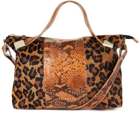Ted Baker Autumny Tote in Beige (Camel)