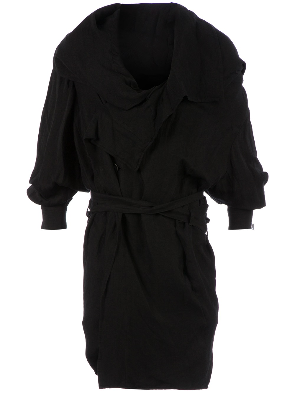 black trench coat with hood - photo #39