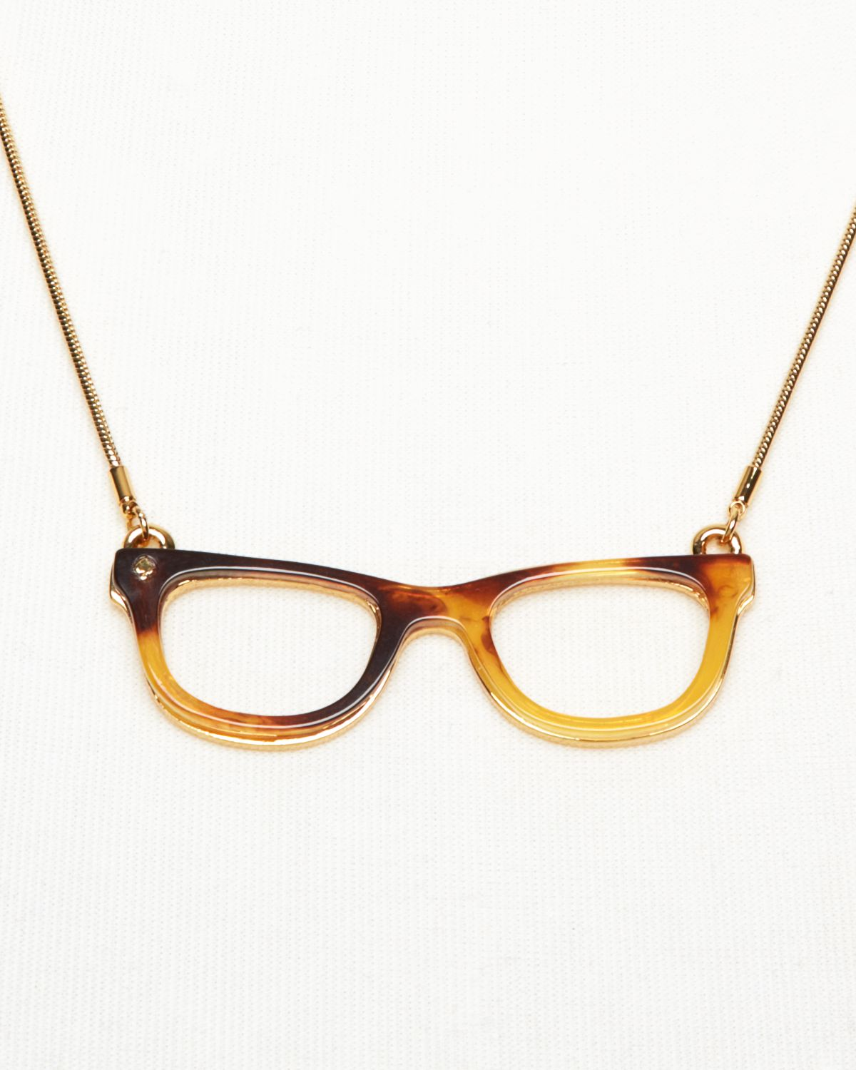 Kate Spade New York Goreski Glasses Pendant Necklace 18