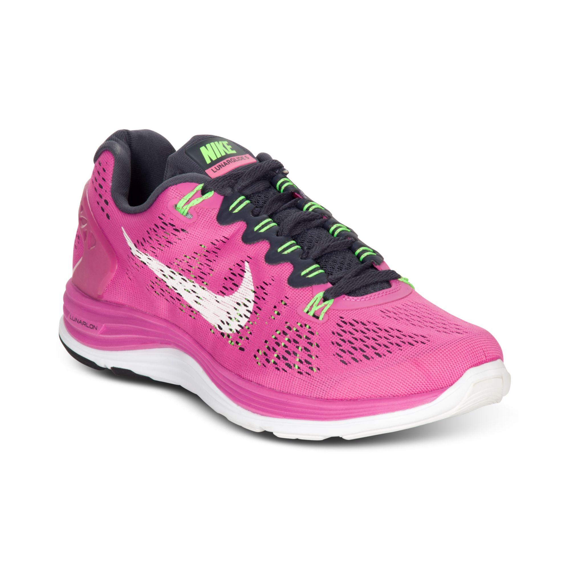 buy popular 753b1 d0b96 Lyst - Nike Lunarglide 5 Running Sneakers in Pink