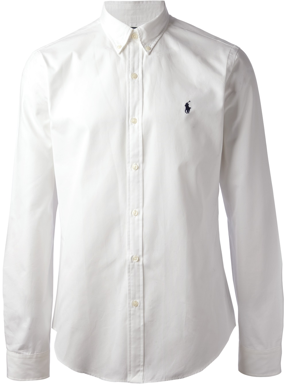 Lyst Polo Ralph Lauren Long Sleeve Shirt In White For Men