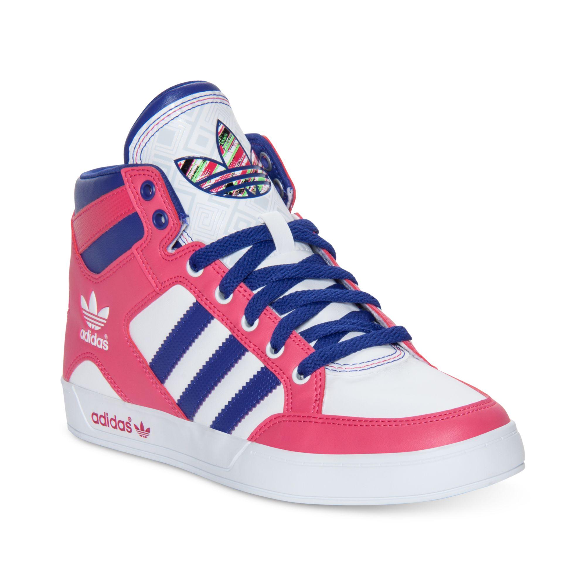 lyst adidas hardcourt ciao casual scarpe rosa