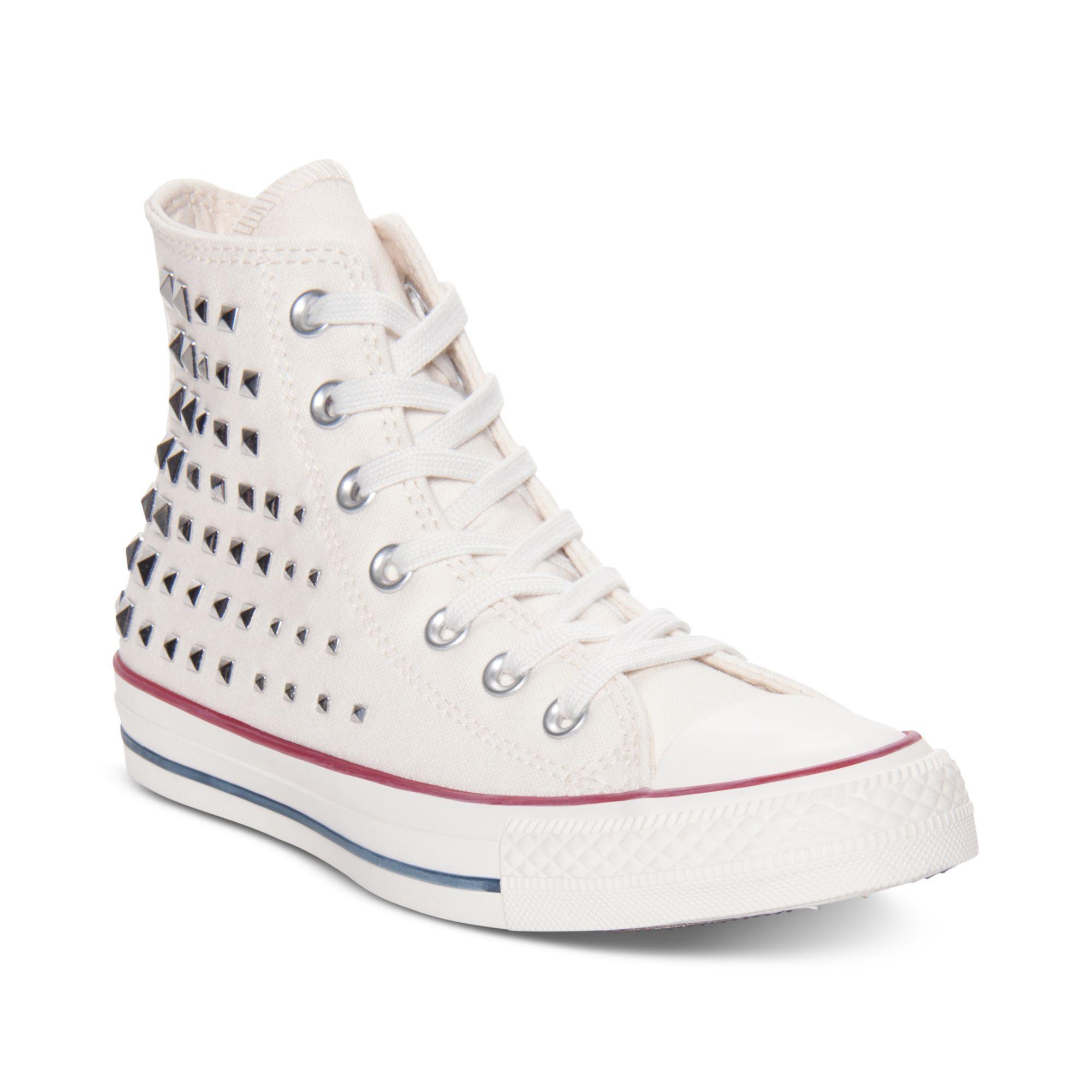 Converse Chuck Taylor Collar Studs White-White