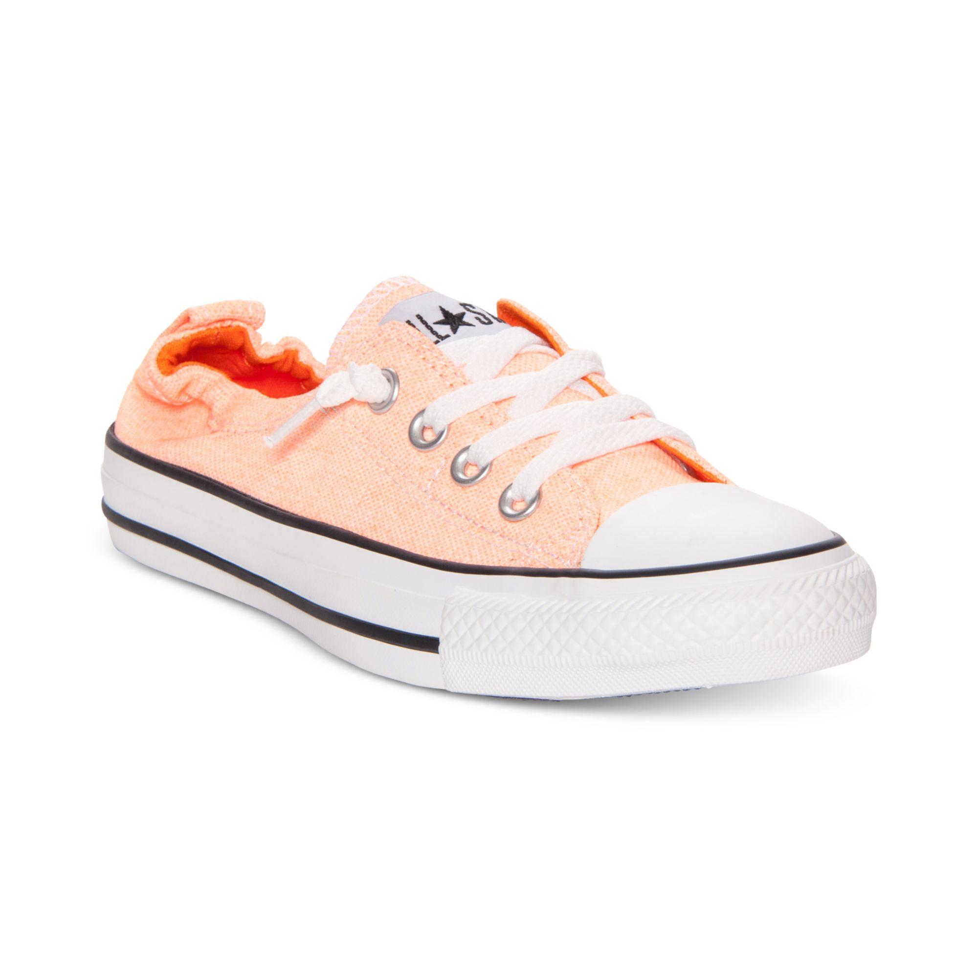 be30e1d0a01c Lyst - Converse Chuck Taylor Shoreline Casual Sneakers in Orange
