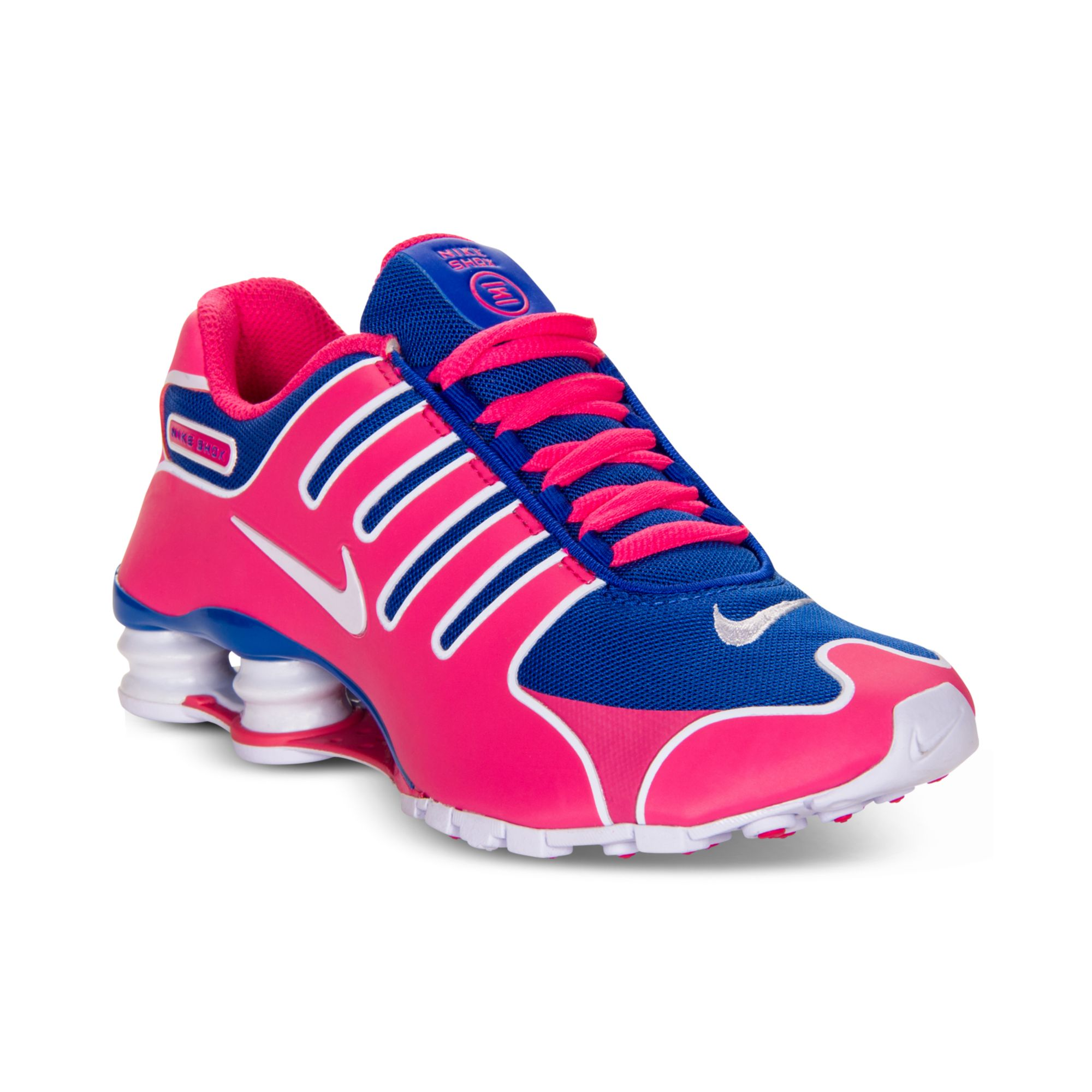 Lyst - Nike Shox Nz Ns Running Sneakers in Pink 3782cbd4f31be