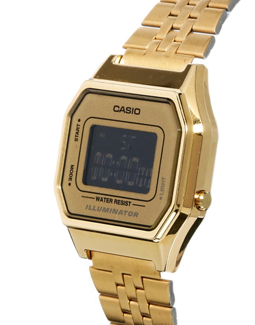 g shock gold in metallic lyst