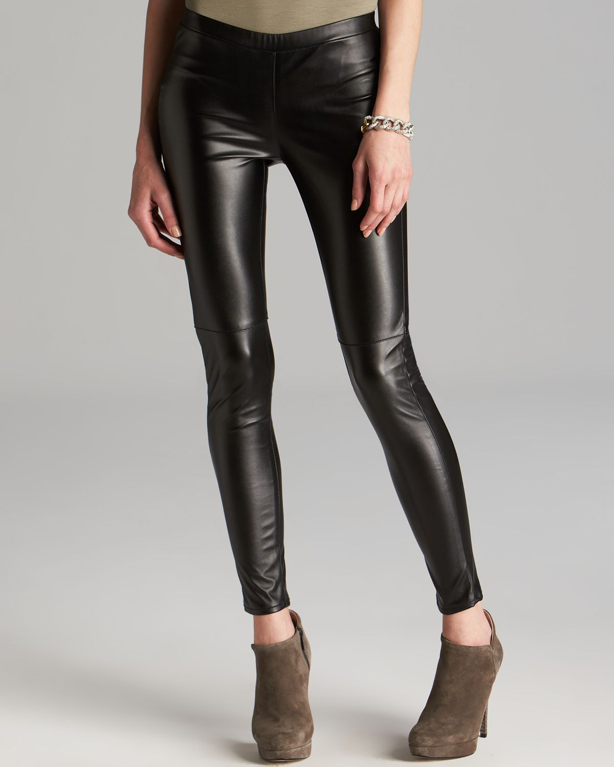5e1861f662b2eb Gallery. Previously sold at: Bloomingdale's · Women's Faux Leather Pants ...