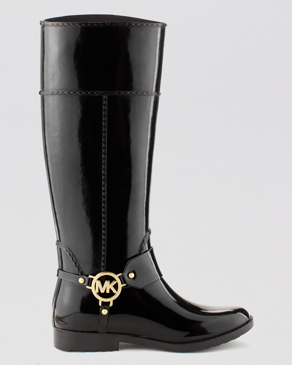 Michael michael kors Tall Harness Rain Boots - Fulton in ...