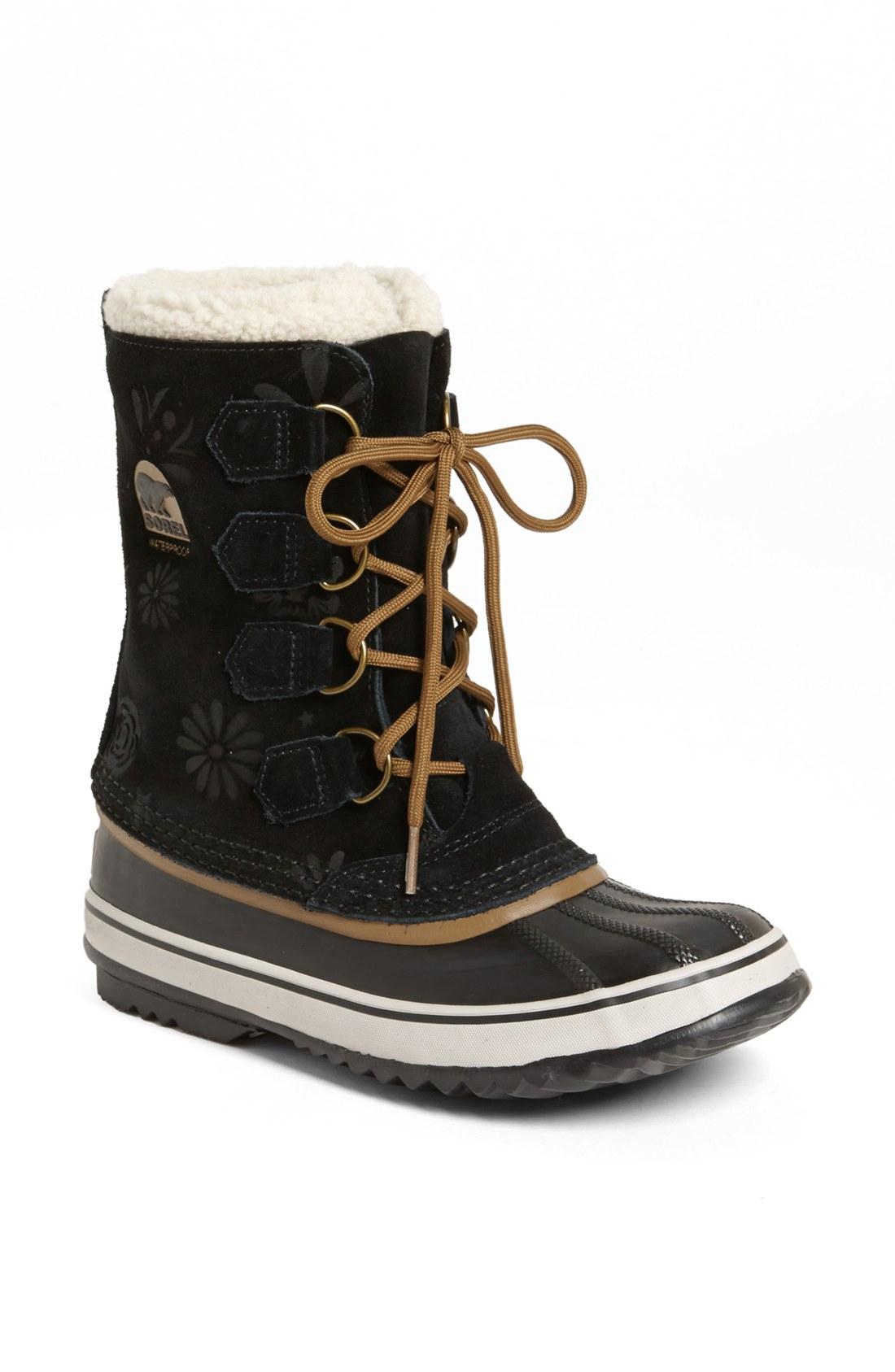 Sorel Short Snow Boots | Santa Barbara Institute for Consciousness ...