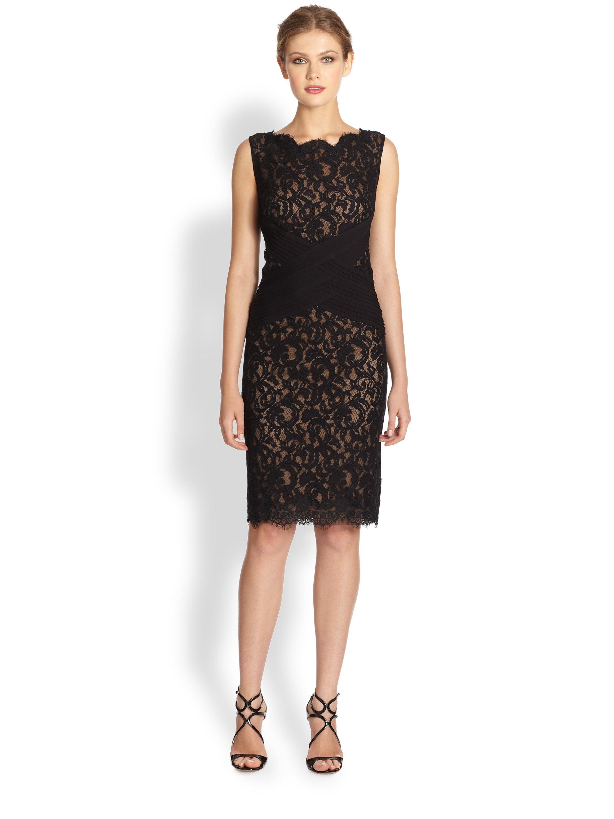 Tadashi Black Cocktail Dress
