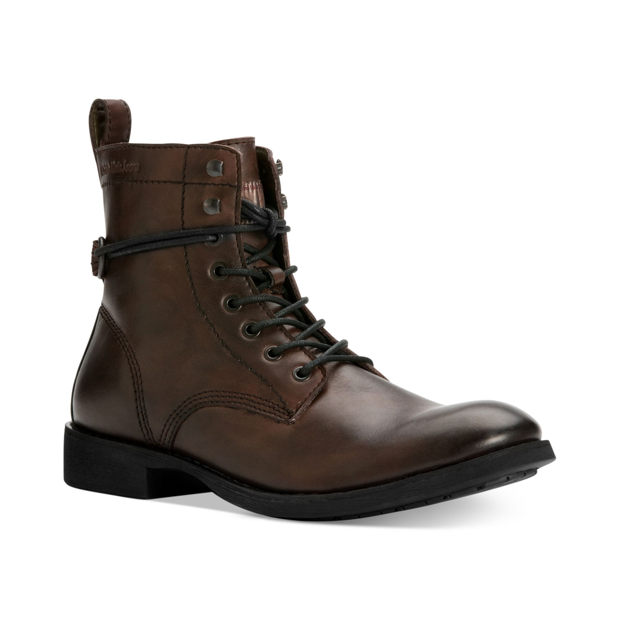 Calvin Klein Jeans Hewett 2 Motorcycle Boots in Brown for ...