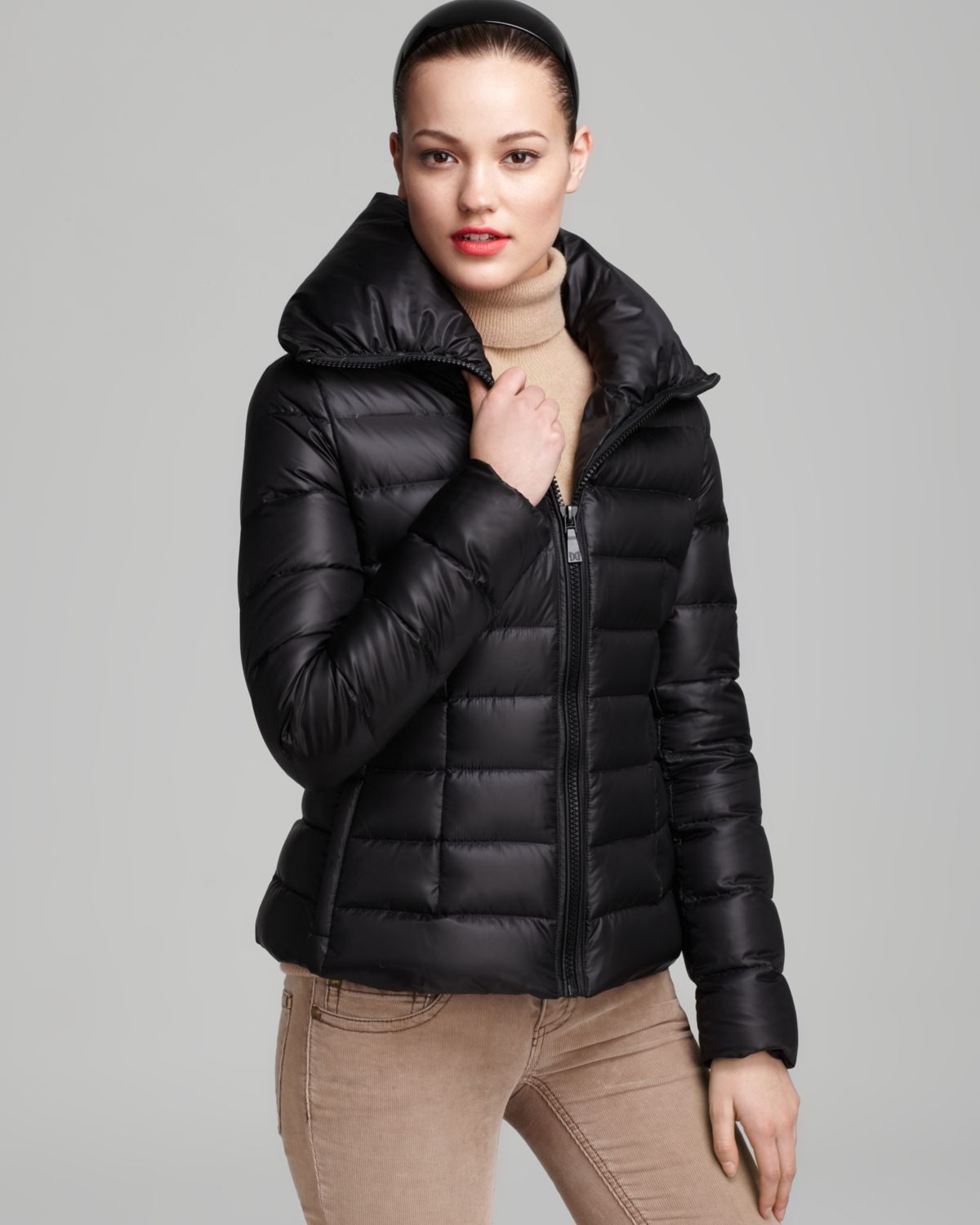 Dawn levy Down Coat Short Packable in Black | Lyst