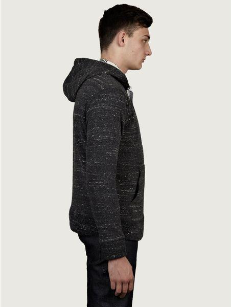 Our Legacy Mens Half Zip Hoodie in Gray for Men (grey) | Lyst