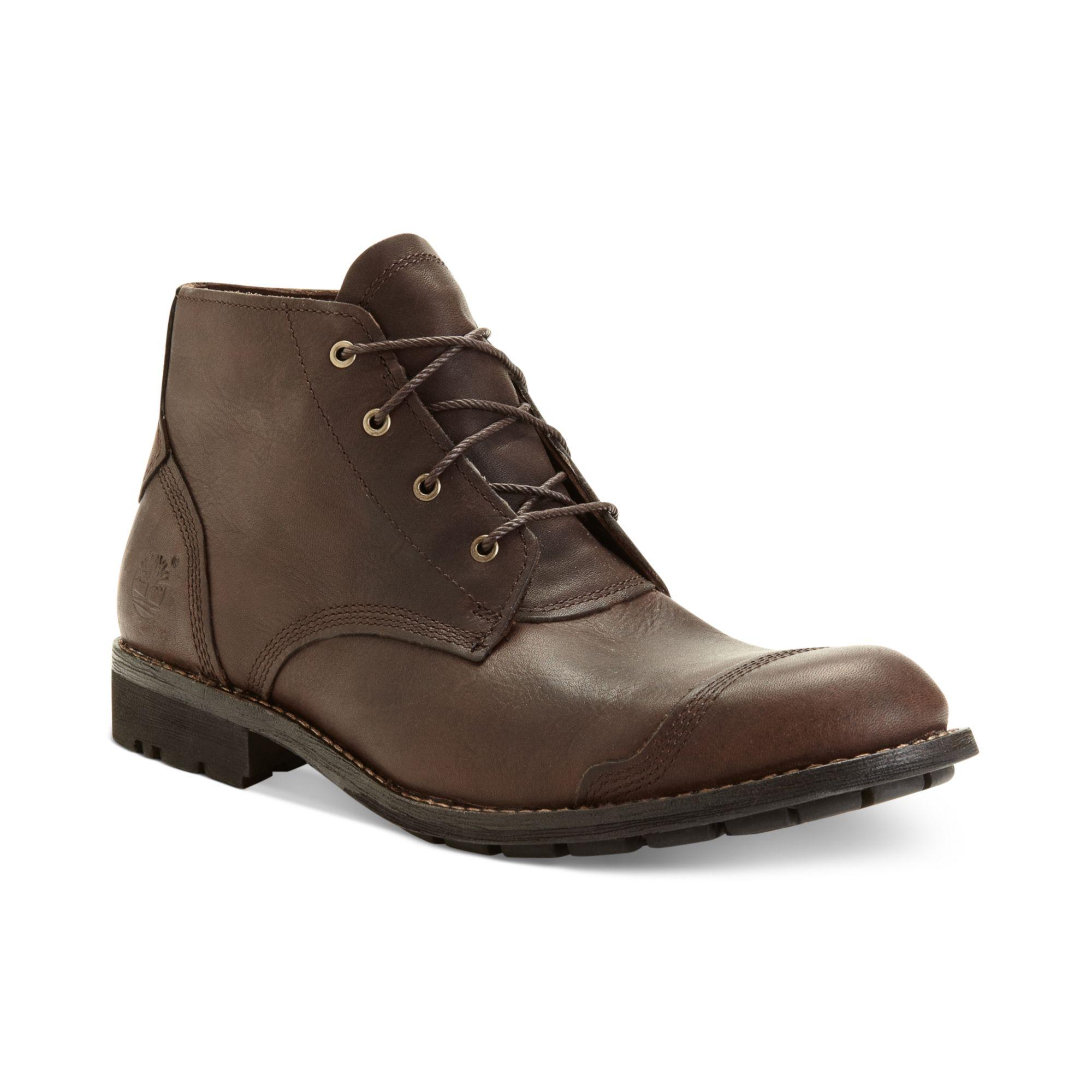 timberland earthkeepers city chukka boots brown