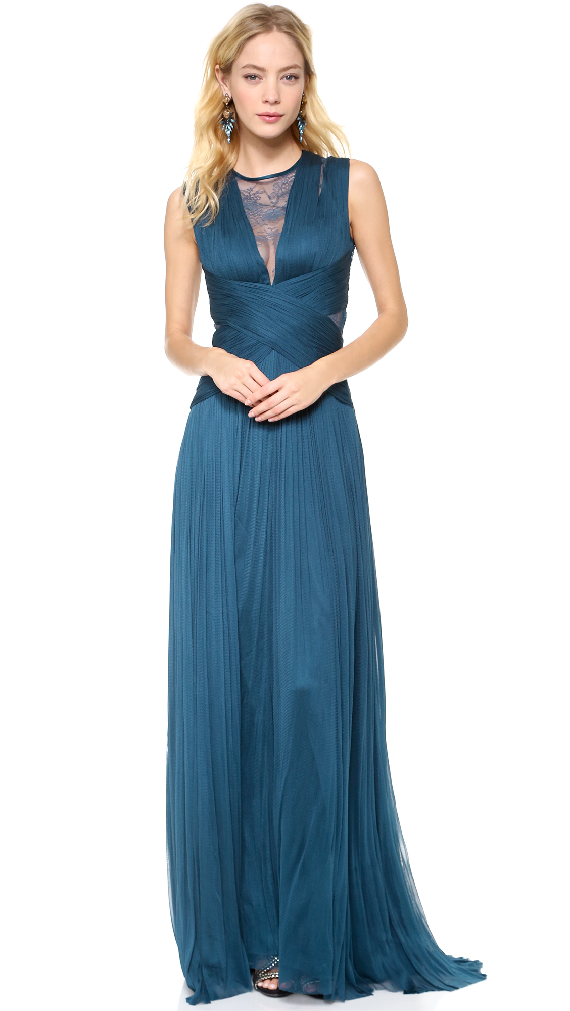 Catherine Deane Rossa Gown in Blue - Lyst
