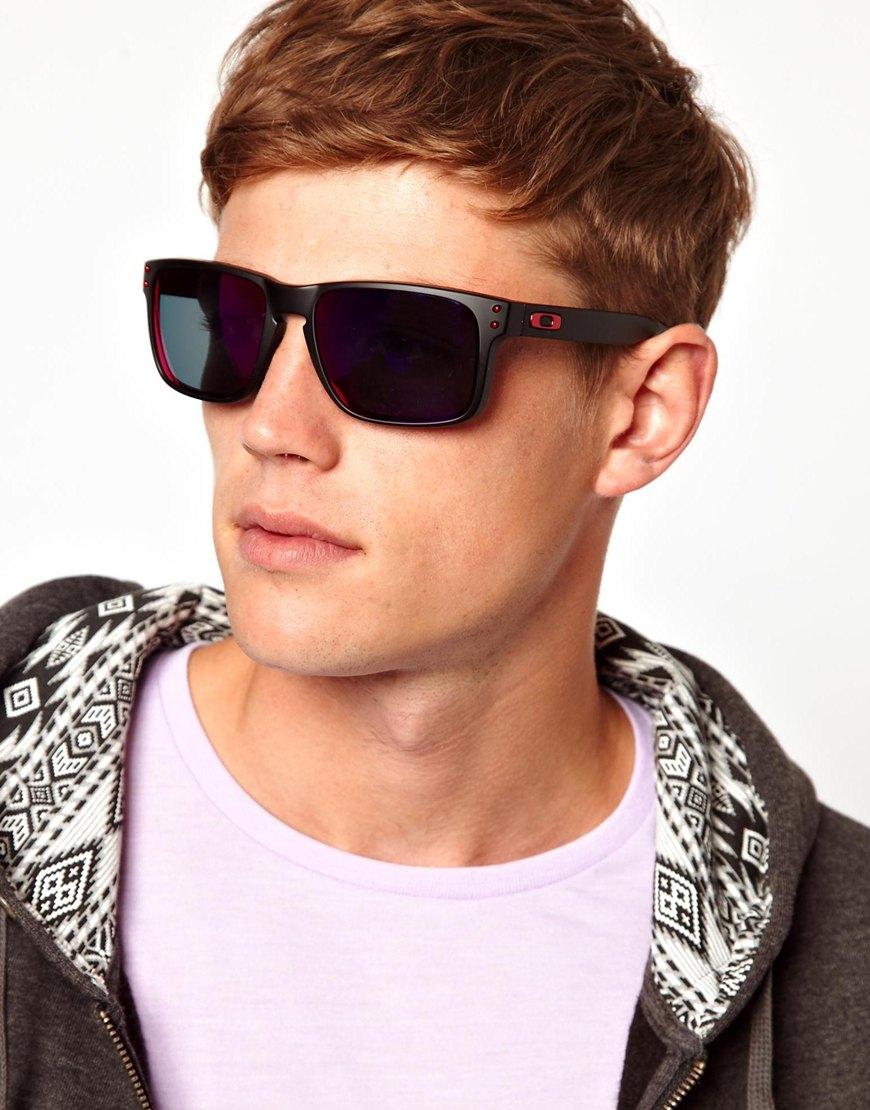 af502b2f2bb58 ... coupon for lyst asos oakley holbrook sunglasses in black for men b717d  5c21c