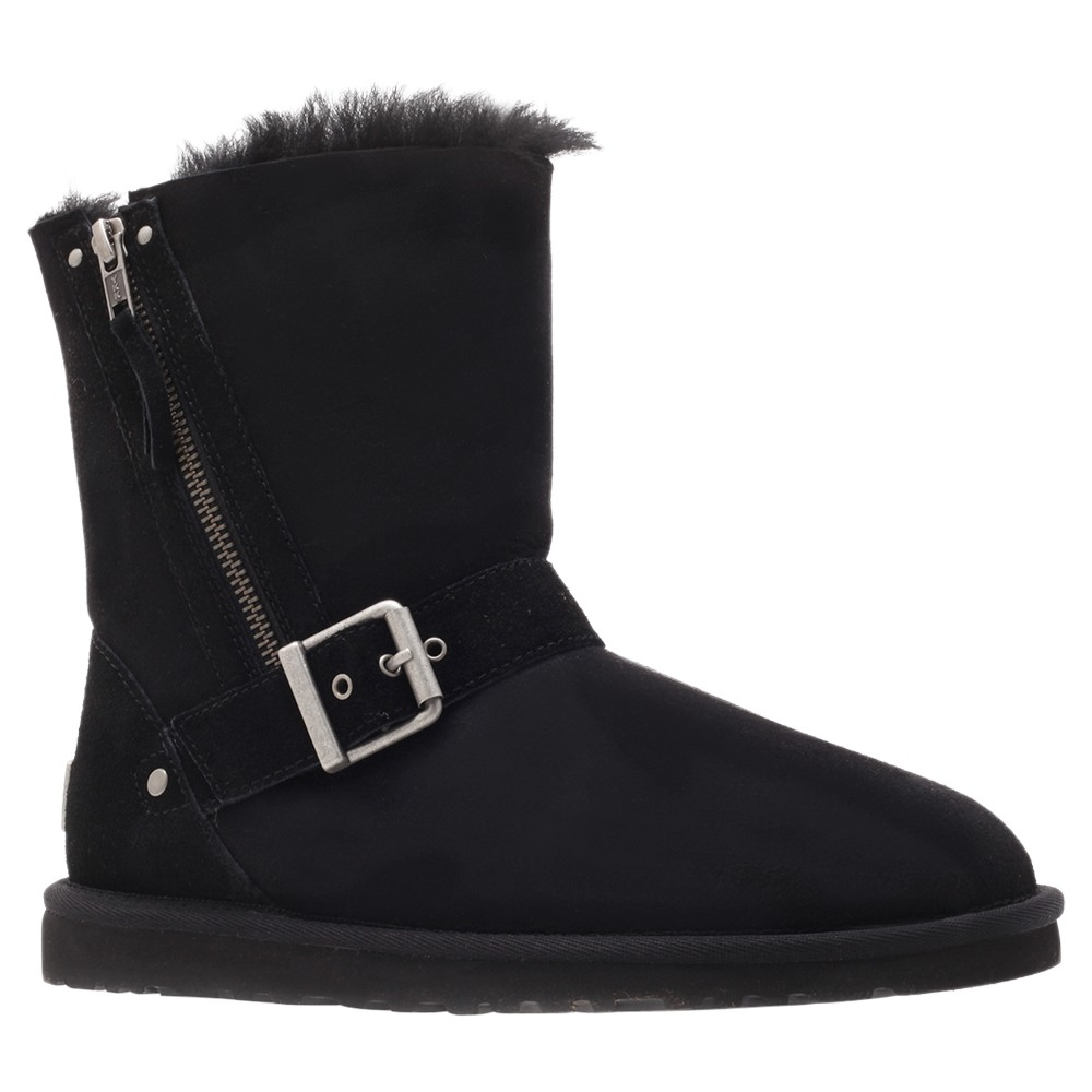 ugg blaise boots in black lyst