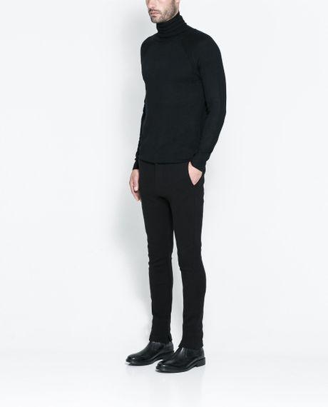 Zara Turtleneck Sweater Mens 30