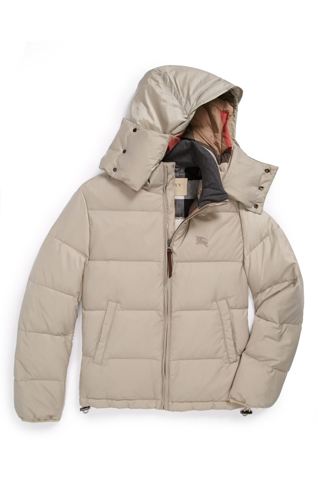 Burberry Brit Colwood Puffer Jacket In Brown For Men