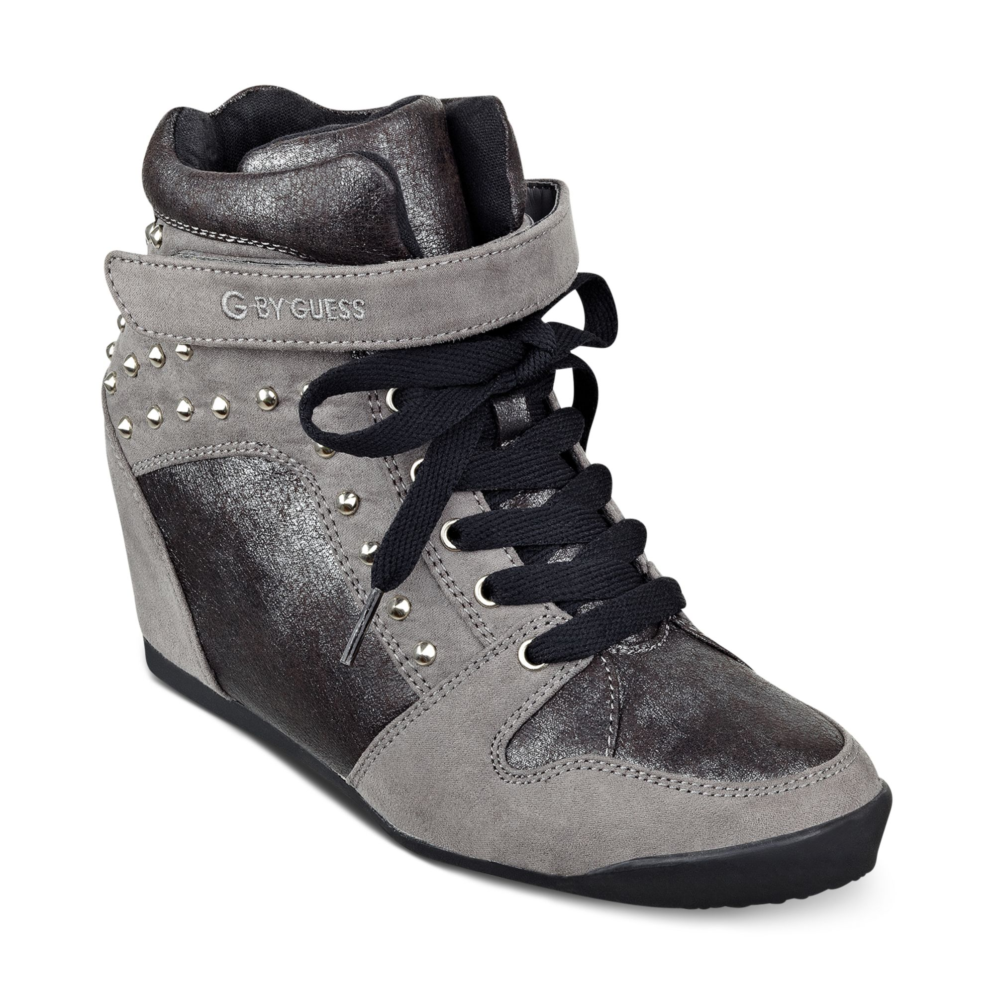 Lyst - G By Guess G By Guess Shoes Raurie Glitter Wedge ...