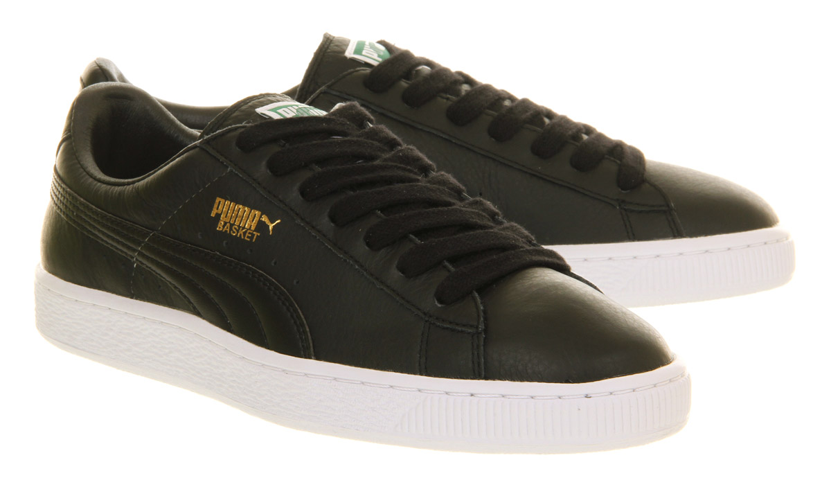 Puma Basket Leather Black