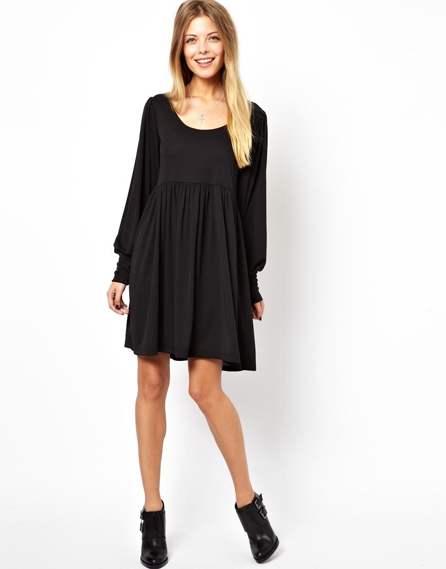 Black smock dress uk