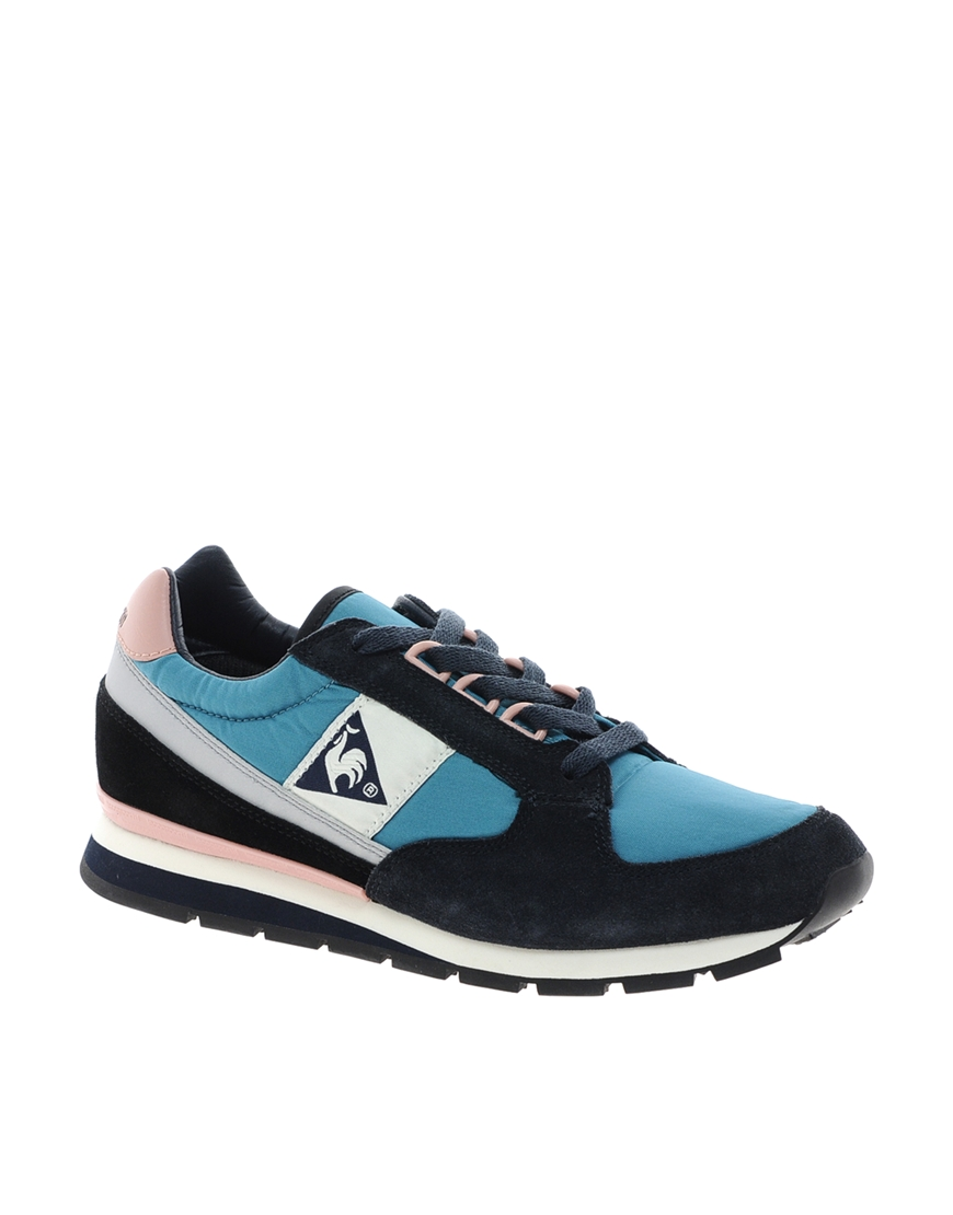 ganni le coq sportif eclat running sneaker in blue lyst. Black Bedroom Furniture Sets. Home Design Ideas