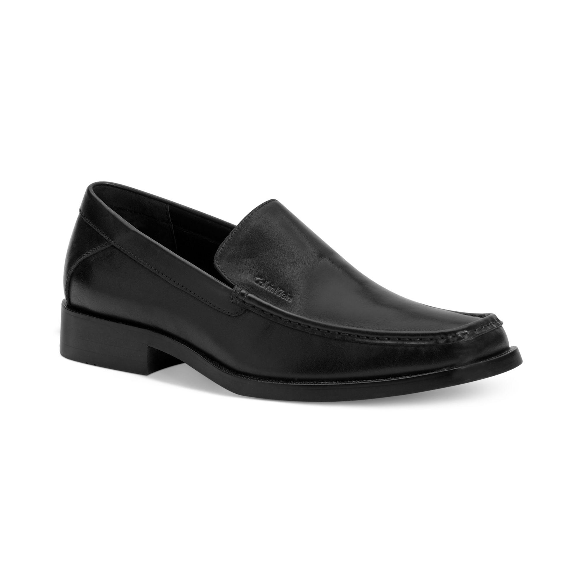 calvin klein calvin klein mens shoes branton moc toe
