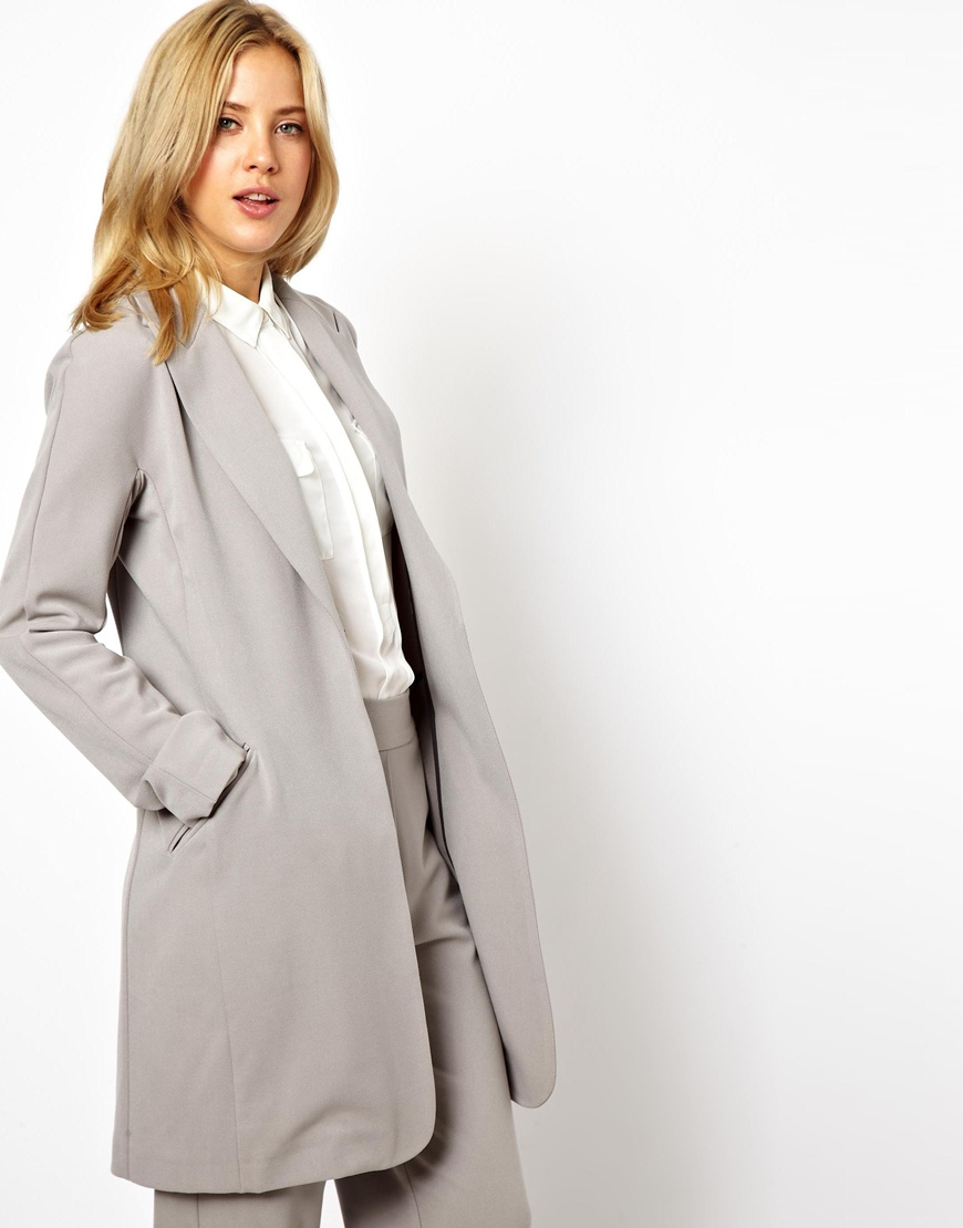 Find womens long line blazer at ShopStyle. Shop the latest collection of womens long line blazer from the most popular stores - all in one place.