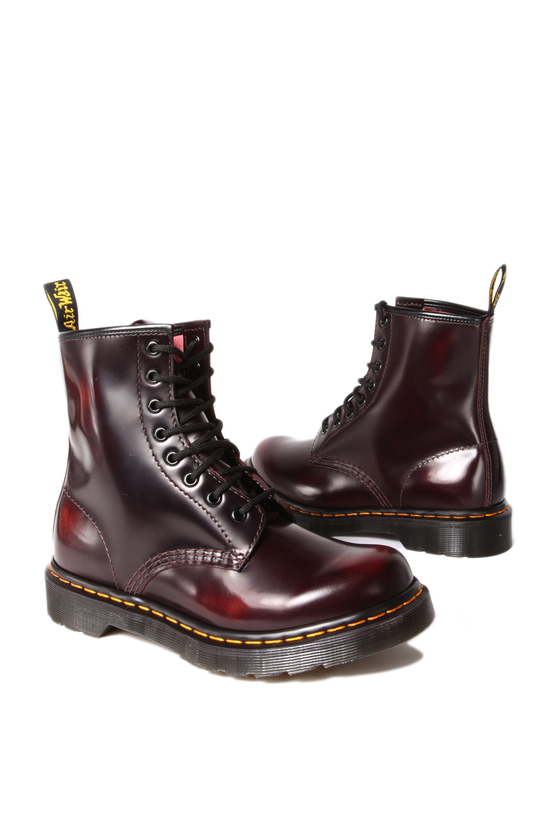 5cb08ad660bfc Lyst - Dr. Martens Boot in Cherry Red Arcadia in Red