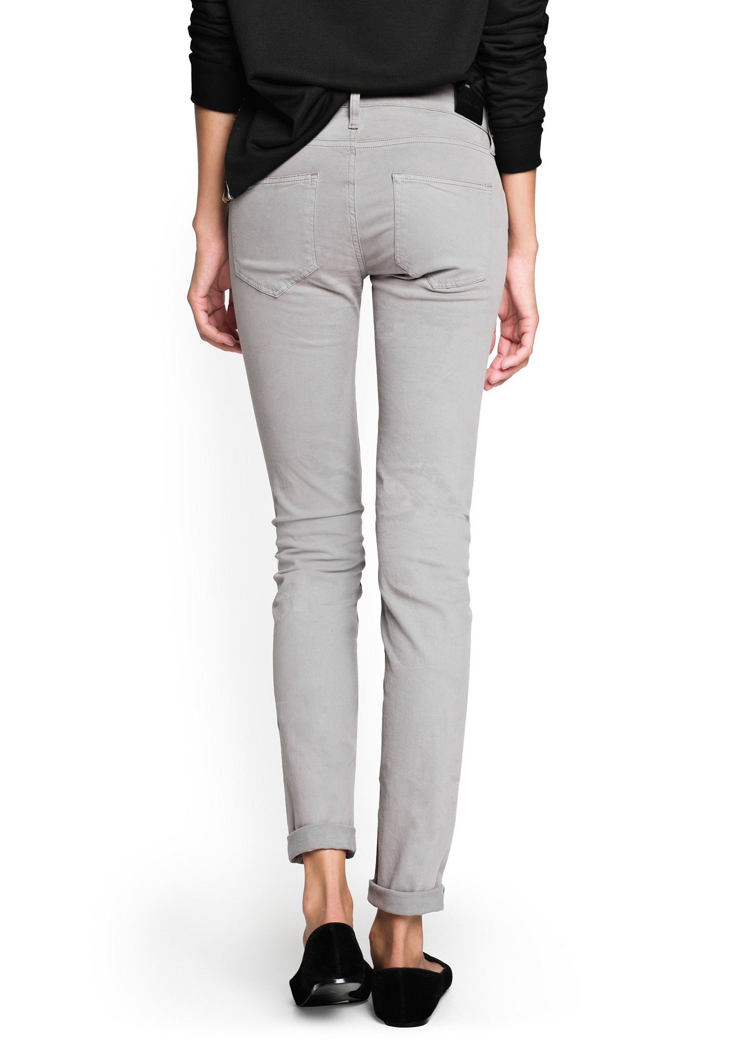 Super skinny fit women's jeans
