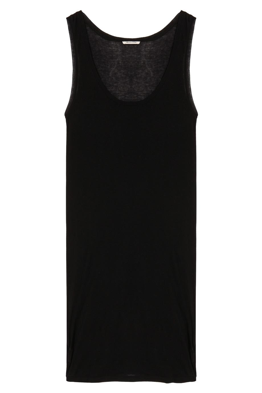 american vintage massachusetts tank dress in black lyst