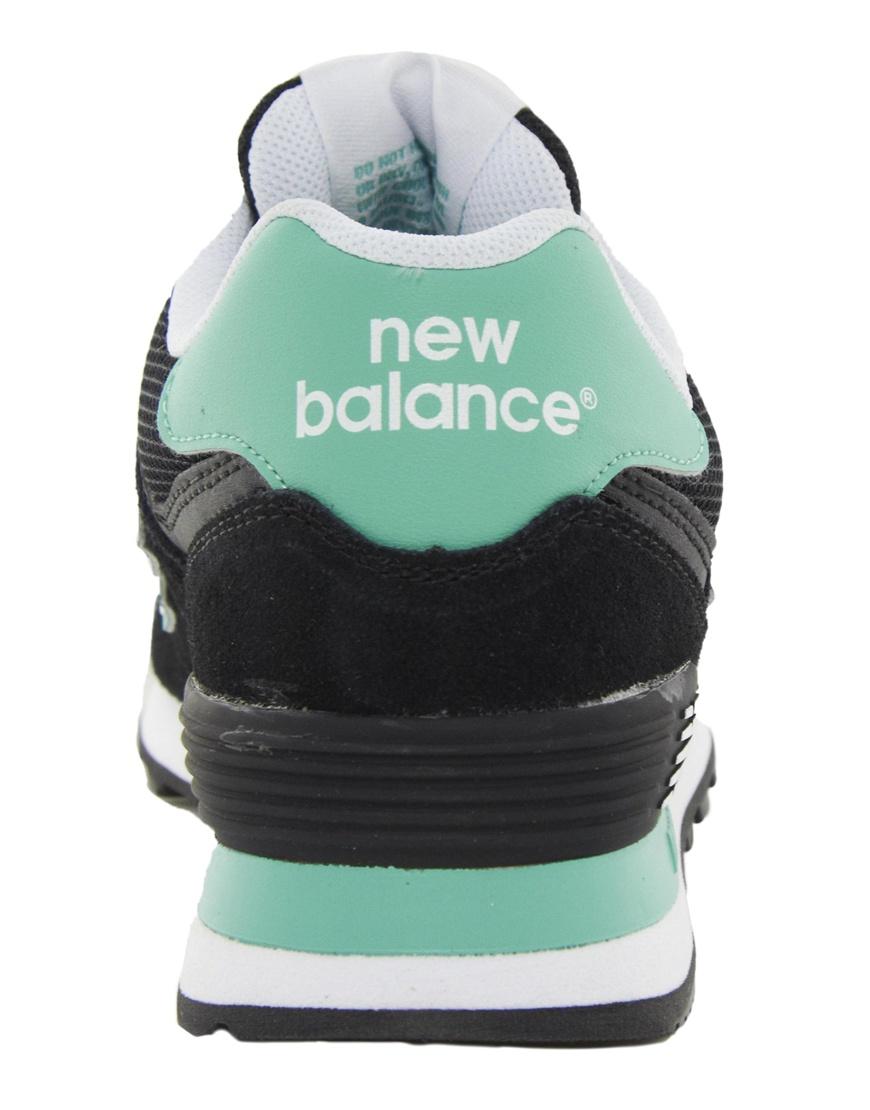 new balance trainers women 574 mint