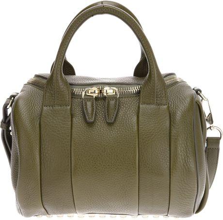 Alexander Wang Rockie Bag in Green