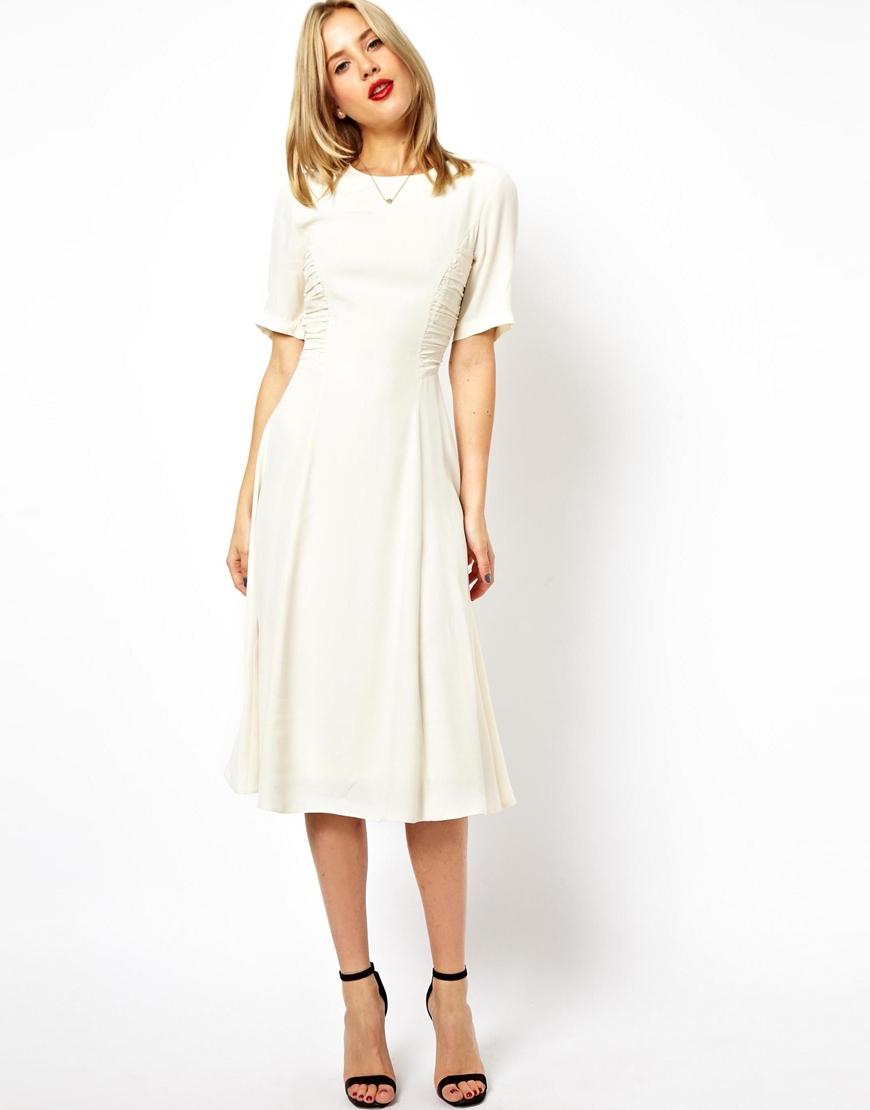 Lyst - Asos Midi Dress...