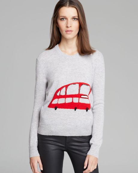 Burberry Brit Double-decker Bus Sweater in Gray (Pale Grey Melange ) - Lyst