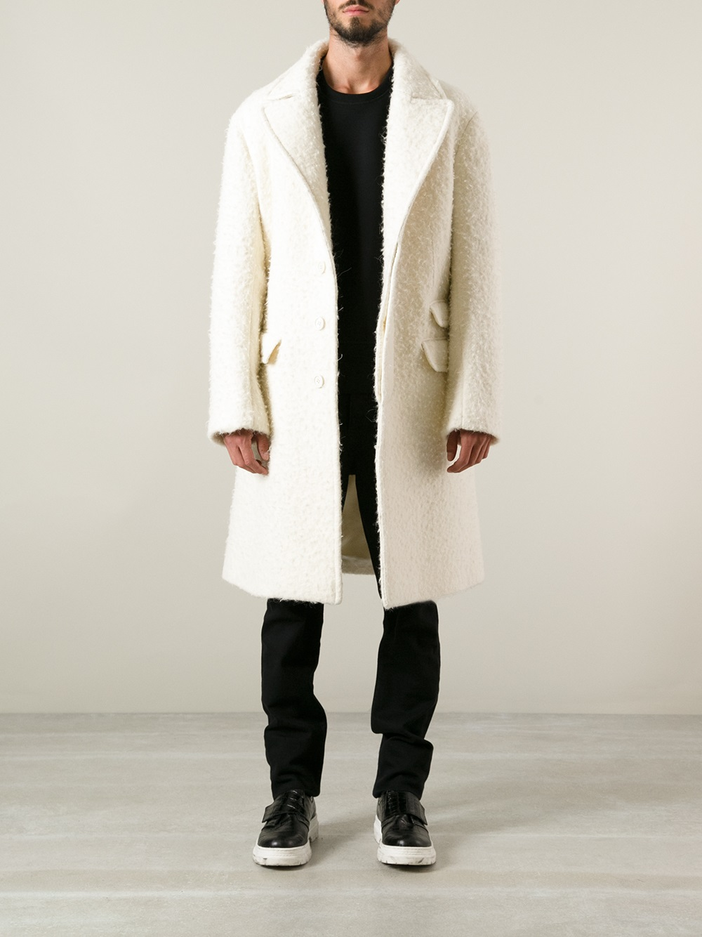 single men in barrett Buy neil barrett single breasted shearling at outlet price on glamood the best men neil barrett single breasted shearling offer for your classy wardrobe.