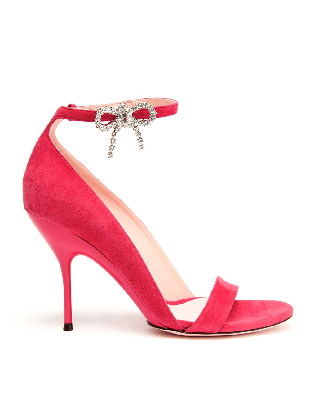 Lyst Nina Ricci Bow Sandal In Pink