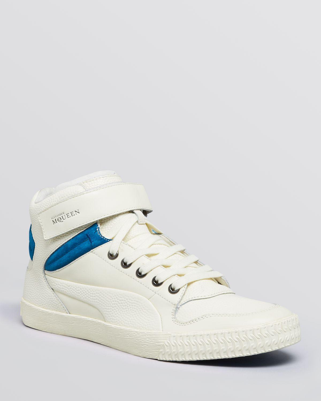 f72c1c98da6db PUMA Alexander Mcqueen Street Climb Iii Mid Sneakers in White for ...
