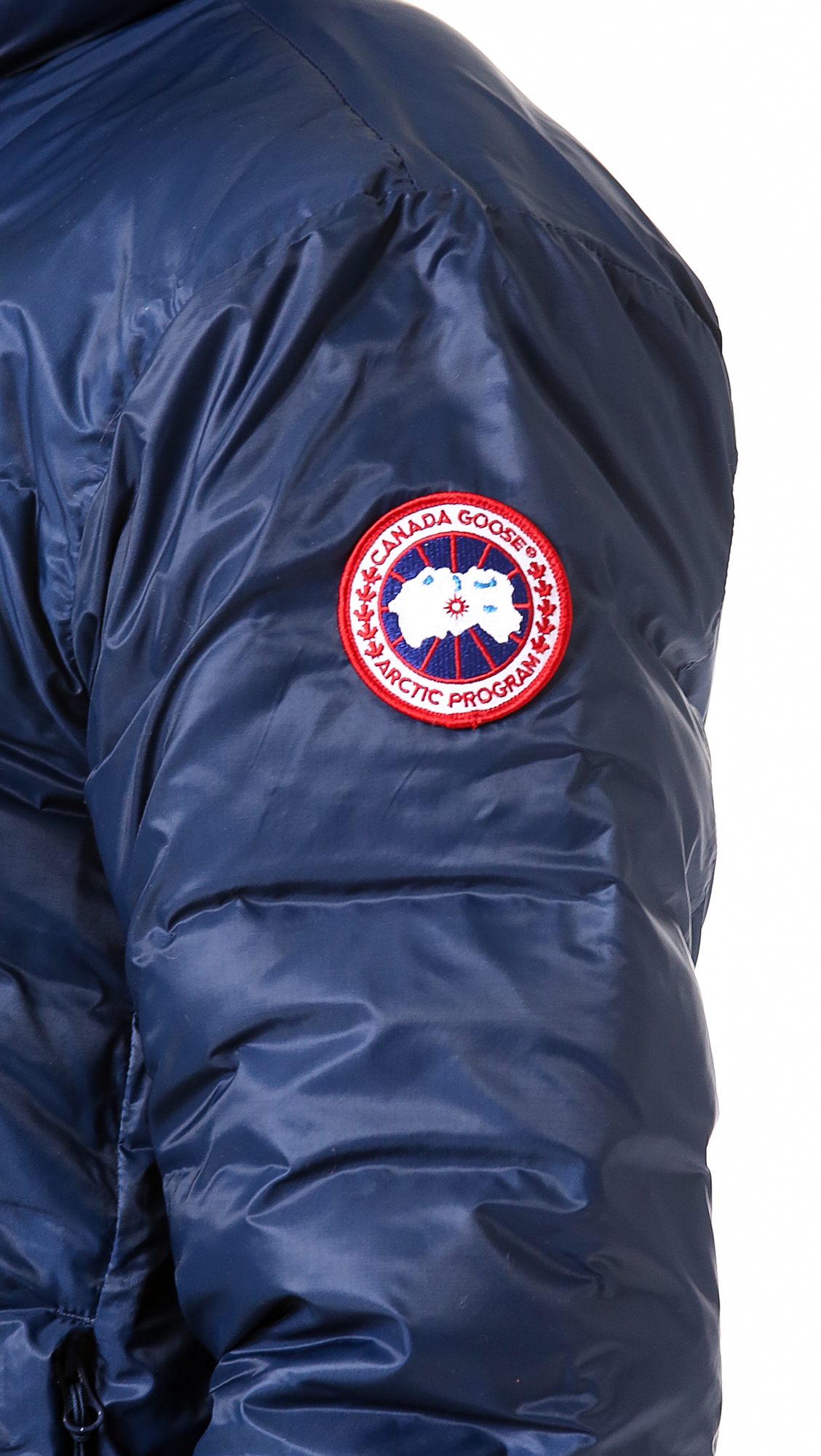c5f7adf8c3c7 ... australia lyst canada goose lodge jacket in white for men 53db4 f1a1a