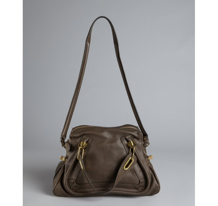 chloe embellished handle bag