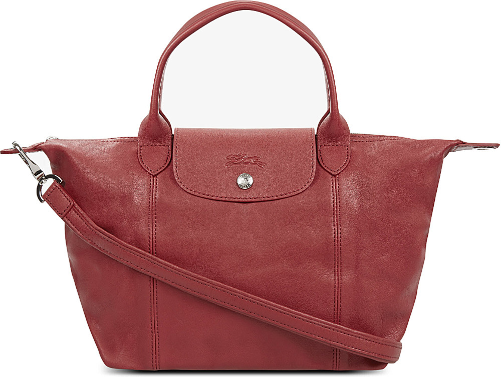214ed6c21 Longchamp Le Pliage Cuir Leather Handbag | Stanford Center for ...