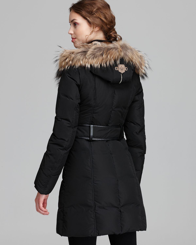 ef7ff4d8ec26 australia mackage womens kay classis down coat 11223 11417  coupon for lyst mackage  down coat trish lavish fur trim hood in black 53115 27bef
