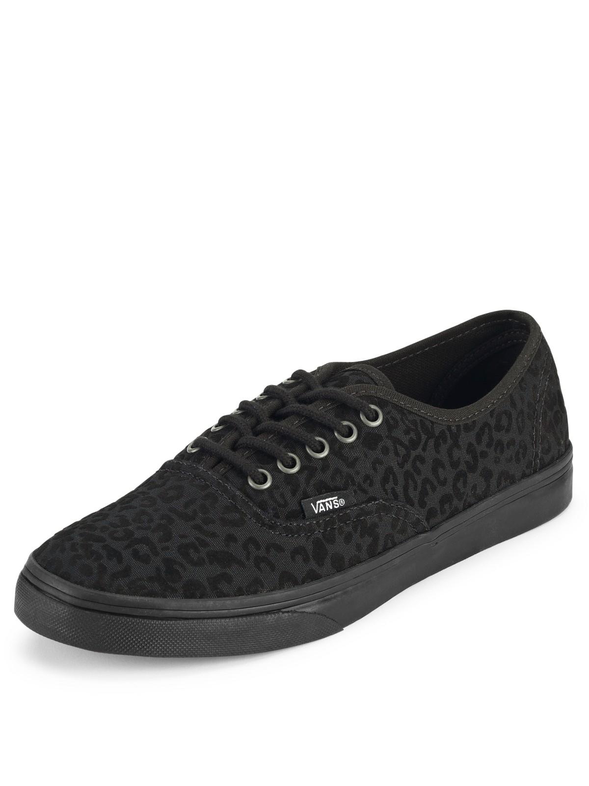 lo pro vans black cheetah