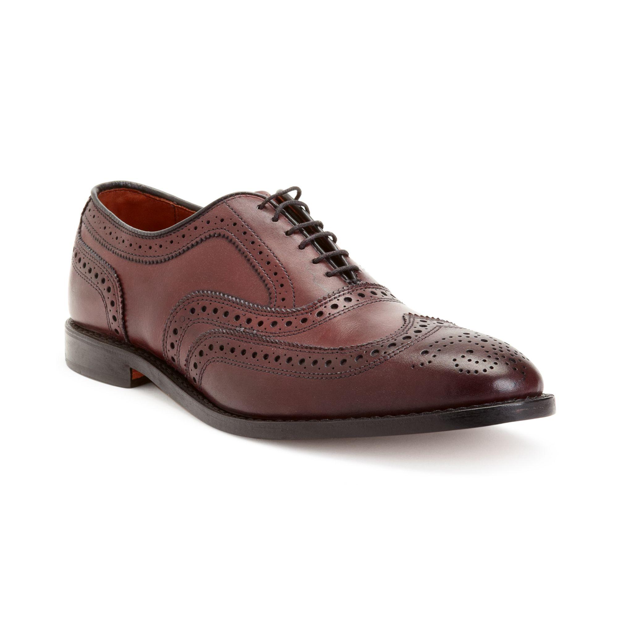 Allen Edmonds Men S Shoe Mcallister Brooks Brothers Burgundy