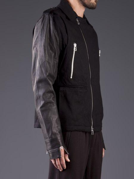 Adidas Slvr Snap Epaulet Jacket In Black For Men Lyst
